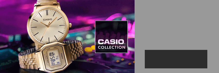 Casio outlet banner