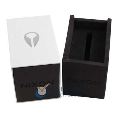Stainless steel watch with blue dial Colecção Outono/Inverno Nixon