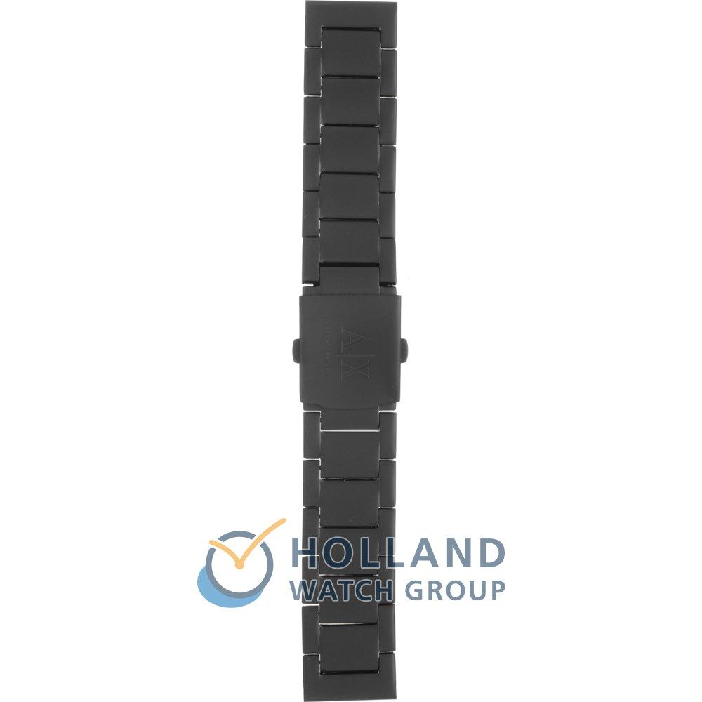 f22f4862f7aee Bracelete Armani Exchange AAX1503 Wellworn • Revendedor oficial ...