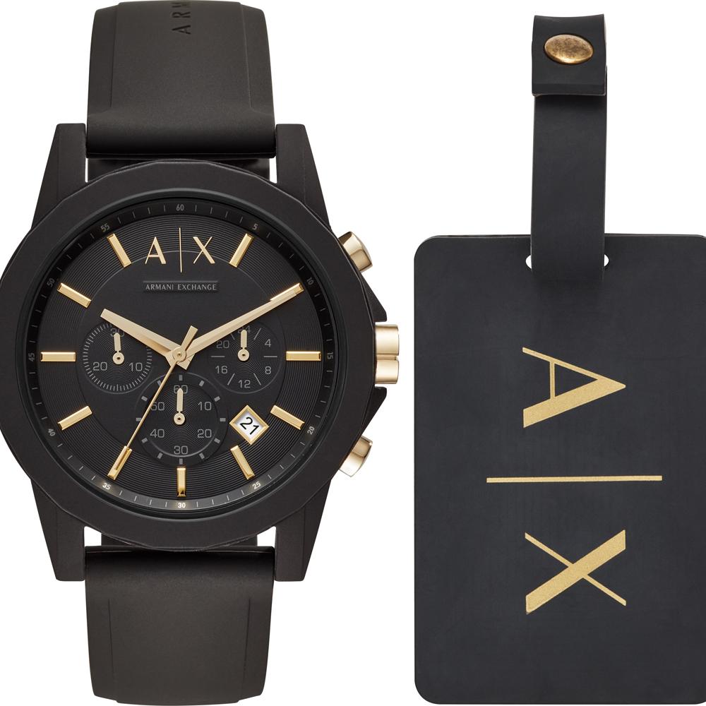 8691a6607e2 Relógio Armani Exchange X Homens AX7105 Outerbanks • EAN ...