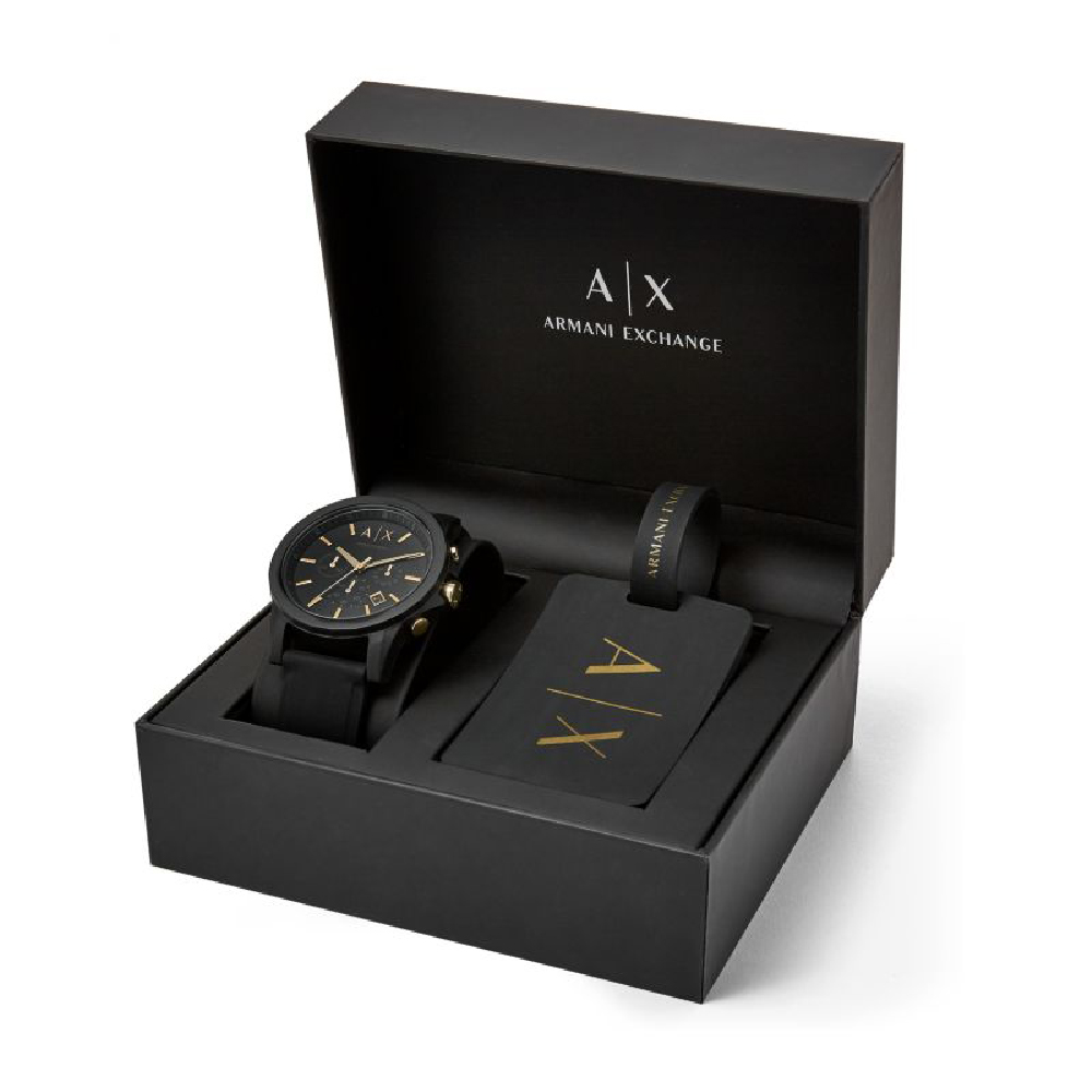 f49965ef4a277 Relógio Armani Exchange X Homens AX7105 Outerbanks • EAN ...