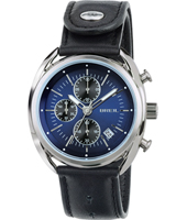 TW1528 Beaubourg 42mm Blue quartz chronograph with date