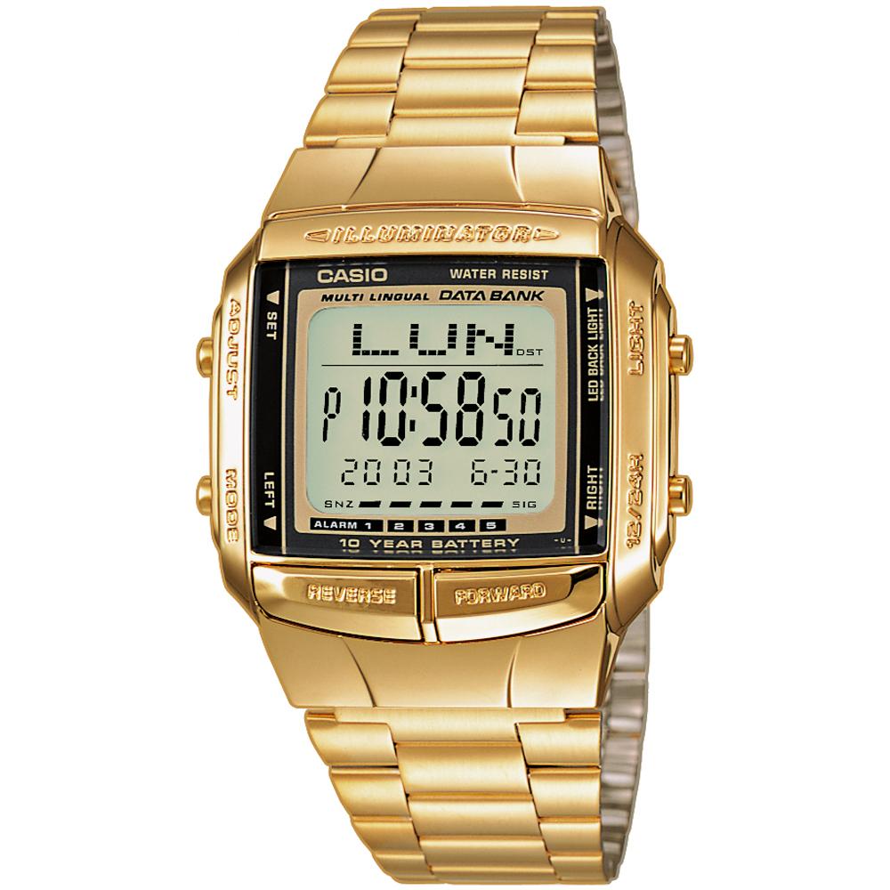 44759968c2a Relógio Casio Retro Digital DB-360GN-9AEF Databank • EAN ...