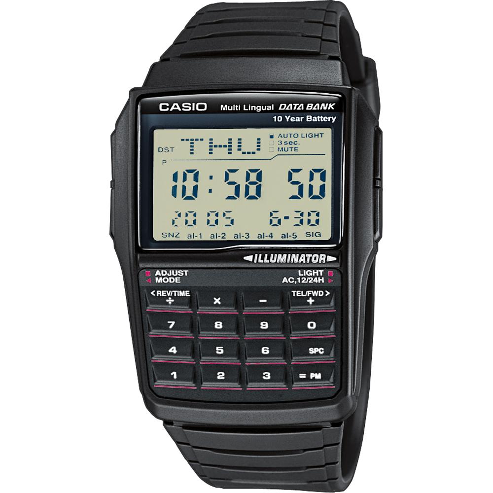 6e389160c46 Relógio Casio Retro Digital DBC-32-1AES Databank Calculator • EAN ...