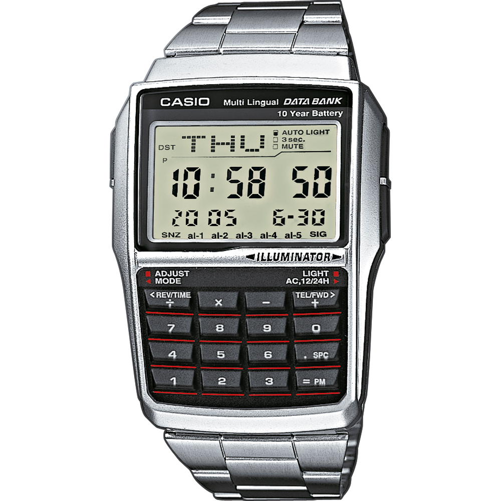 529f2274d0b Relógio Casio Retro Digital DBC-32D-1AES Databank Calculator • EAN ...