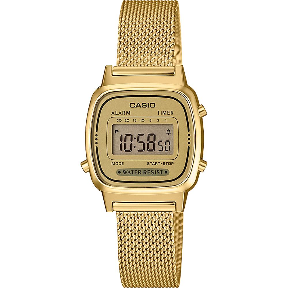 25ce2fa6b96 Relógio Casio Retro Digital LA670WEMY-9EF • EAN  4549526187865 ...