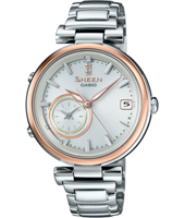 SHB-100SG-7AER Time Rings 35mm Elegant ladies watch with smartphone link