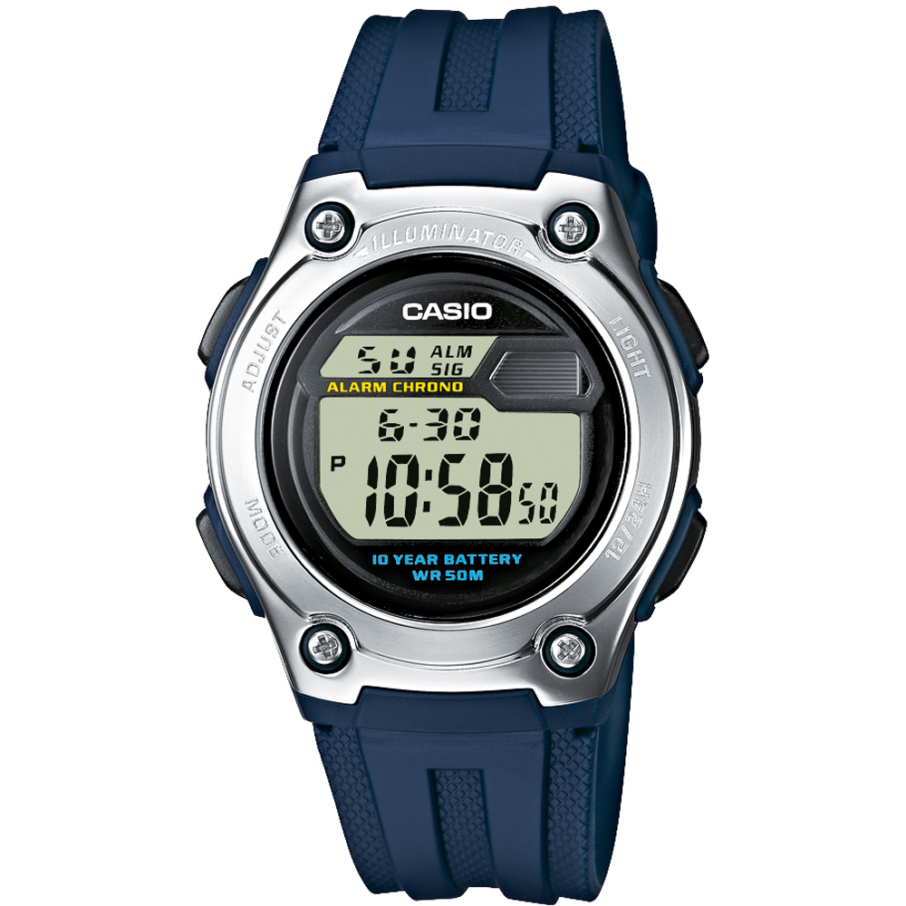 95ab219d864 Relógio Casio W-211-2AVES • EAN  4971850437062 • Relogios.pt