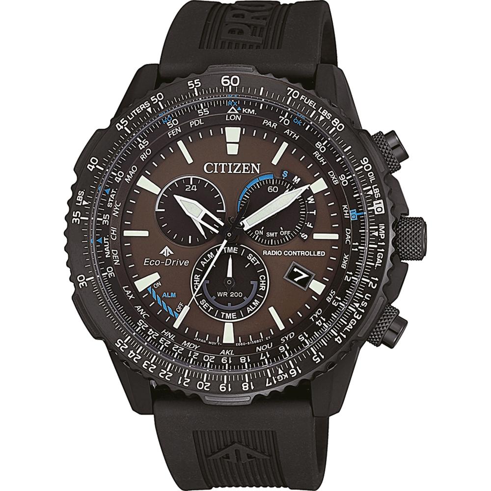 cfa12dc9f15 Relógio Citizen Controle rádio CB5005-13X • EAN  4974374279255 ...