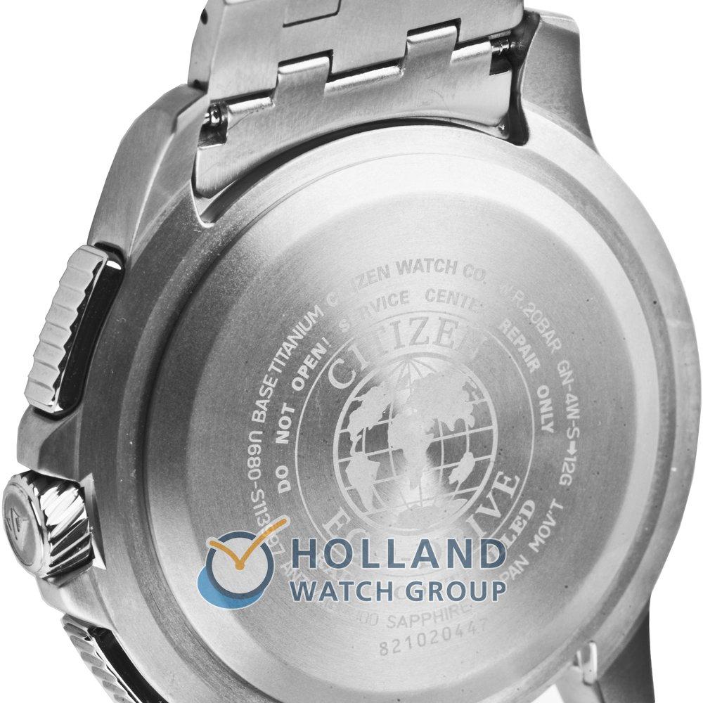 d1972c40c41 relógio cinzento Radio Controlled. Relógio digital-analógico preto com  bracelete em titânio Colecção Primavera Verão Citizen