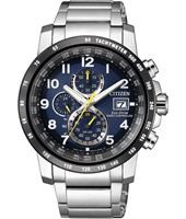 AT8124-91L Radio Controlled Eco-Drive 43mm Radio controlled chrono with perpetual calender
