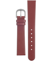 ADDRD16 DD 16mm Red Leather Strap