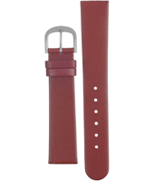 ADDRD18 DD 18mm Red Leather Strap