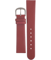 ADDRD20 DD 20mm Red Leather Strap