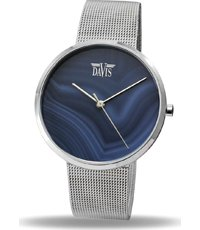 Davis-2334 Blue Agaath 37mm