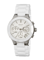 NY4912 Broadway Chrono White Ceramic 38.5mm