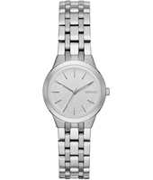 NY2490 Parkslope Small Silver ladies quartz watch