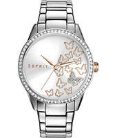 ES109082005 Butterfly Valley 36mm Ladies Quartz Watch with Butterflies