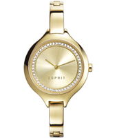 ES108322002 Stacy Gold ladies watch with steel bracelet