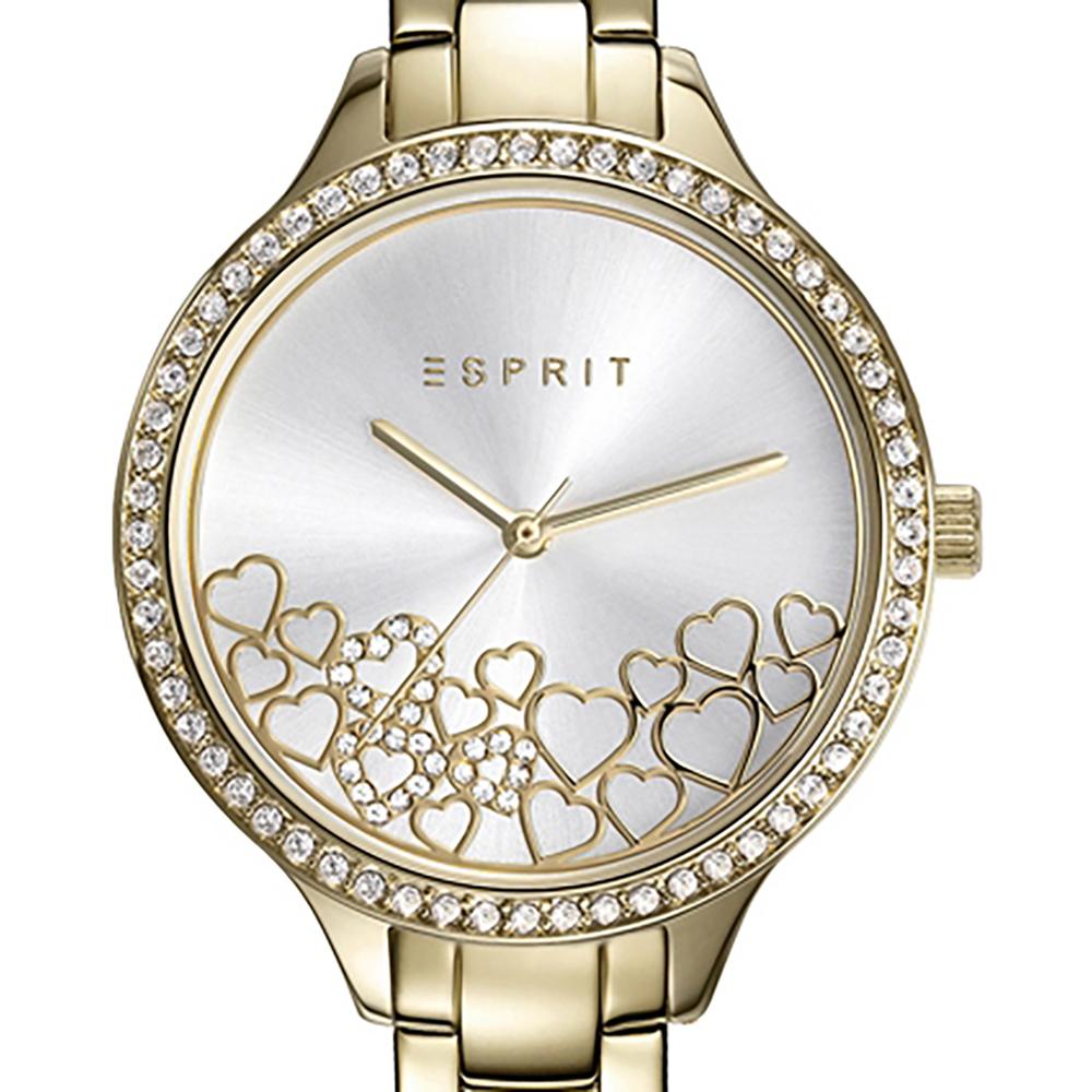 79c993a7aa6 relógio Ouro Quartz. Gift Set  Ladies Watch with extra bracelet Colecção  Primavera Verão Esprit