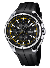 F16882/7 Chrono Bike 44.30mm Black chronograph with yellow Details