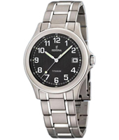 F16458/3 Classic 39mm Titanium Gents Watch with Date