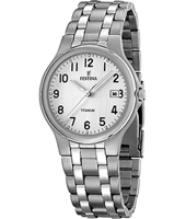 F16460/1 Classic 37mm Gent watch with date