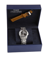 F16170/3 Gift Set 40mm Watch with Extra Leather Strap