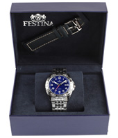 F16495/3 Gift Set 44mm Watch with Extra Leather Strap