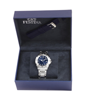 F16636/3 Gift Set 40mm Gents Quartz Watch with Extra Rubber Strap