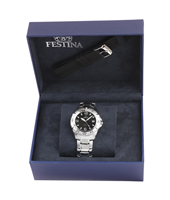 F16636/4 Gift Set 40mm Gents Quartz Watch with Extra Rubber Strap