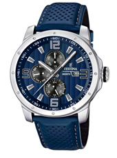 F16585/3 Multifunction 45mm Gents Quartz Watch with DayDate