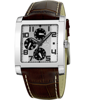 F16235/2 Retro 37mm Square Gents Watch with DayDate