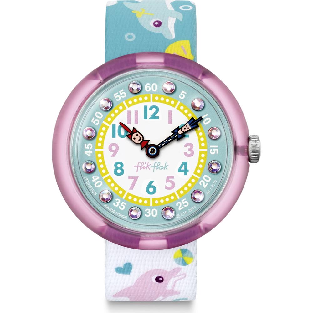 77ddc5090ef Relógio Flik Flak FBNP035 Sunny Hours - Splashy Dolphins • EAN ...