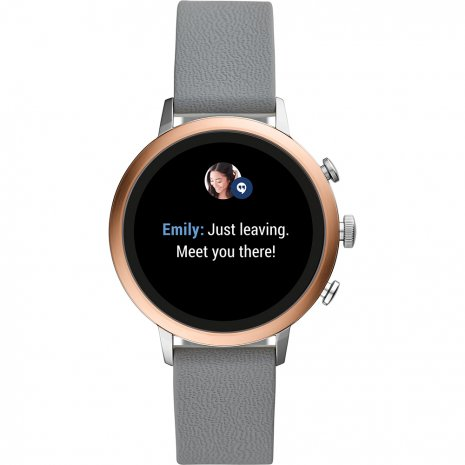 Touchscreen Smartwatch with Silicone Strap - Gen4 Colecção Outono/Inverno Fossil