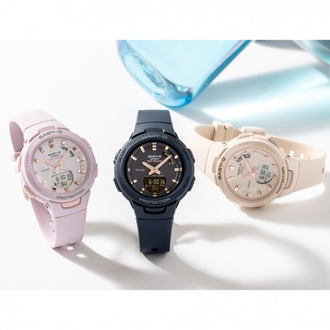 Step Counter Ladies Smartphone Link Functions Watch Colecção Outono/Inverno G-Shock