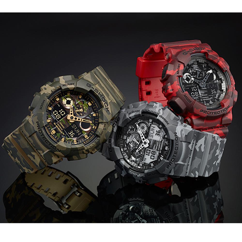 db040dab1a5 Relógio G-Shock ana-digi camuflagem Colecção Outono Inverno G-Shock
