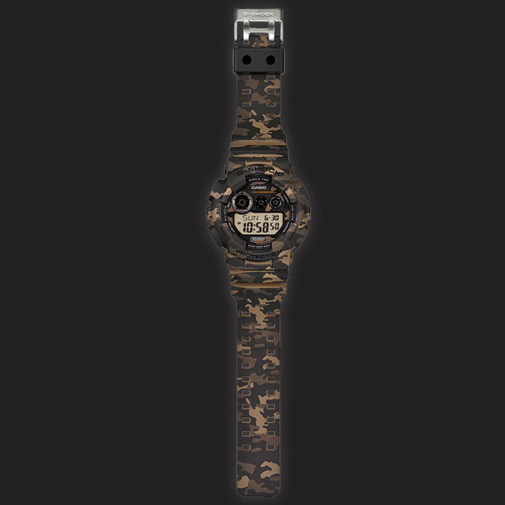 7570825d3de Relógio G-Shock Classic Style GD-120CM-5 Camouflage • EAN ...