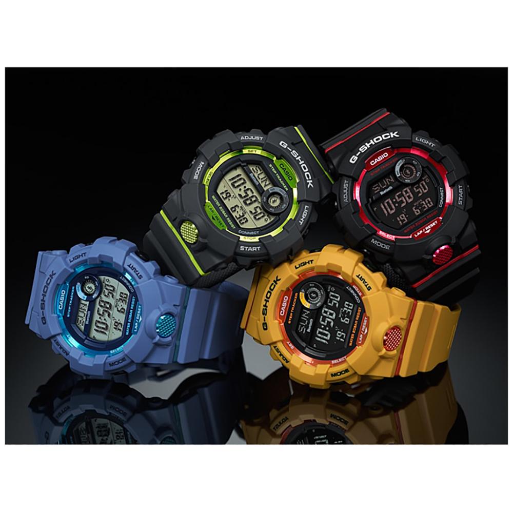 3a2aee75afe Relógio G-Shock Classic Style GBD-800-1 G-Squad Bluetooth • EAN ...