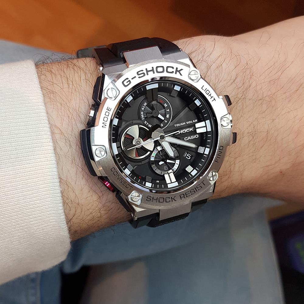 39748e527a6e Relógio G-Shock G-Steel GST-B100-1AER G-Steel • EAN  4549526168178 ...