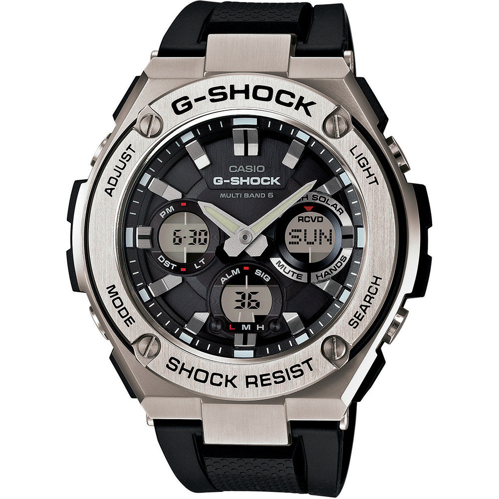 137d750ce12 Relógio G-Shock G-Steel GST-W110-1AER G-Steel Tough Solar • EAN ...