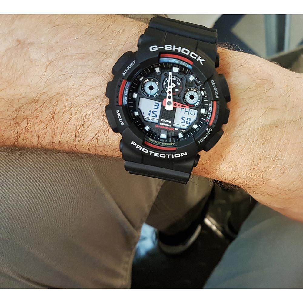 d349d6ad232 Relógio G-Shock Classic Style GA-100-1A4ER GA-100-1A4 • EAN ...