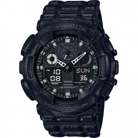 G-Shock Black Out Texture relógio