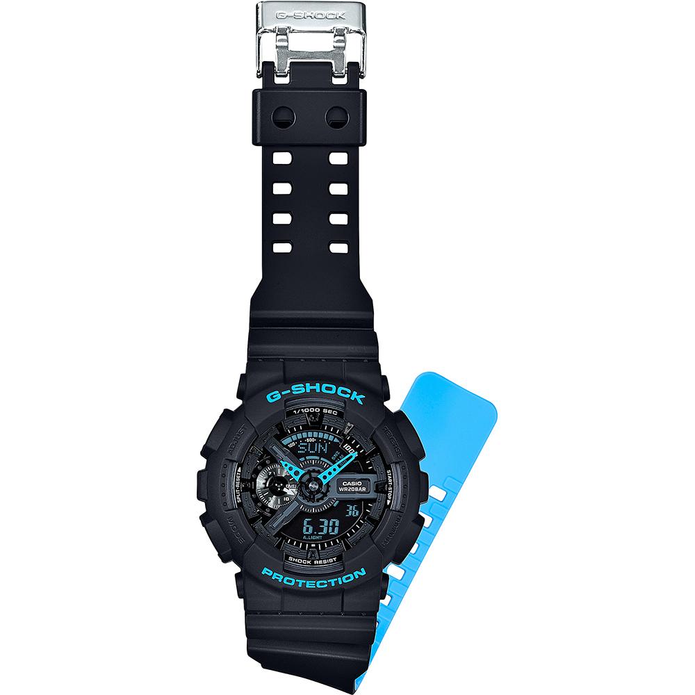 800ecaaa805 Relógio G-Shock Classic Style GA-110LN-1AER Layered Neon • EAN ...