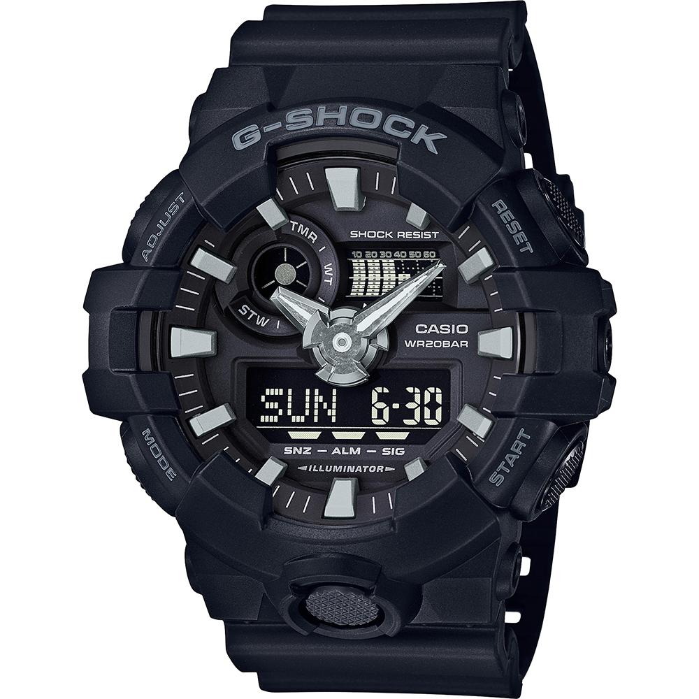 ef30ae11cd4 Relógio G-Shock Classic Style GA-700-1BER GA-700-1B • EAN ...