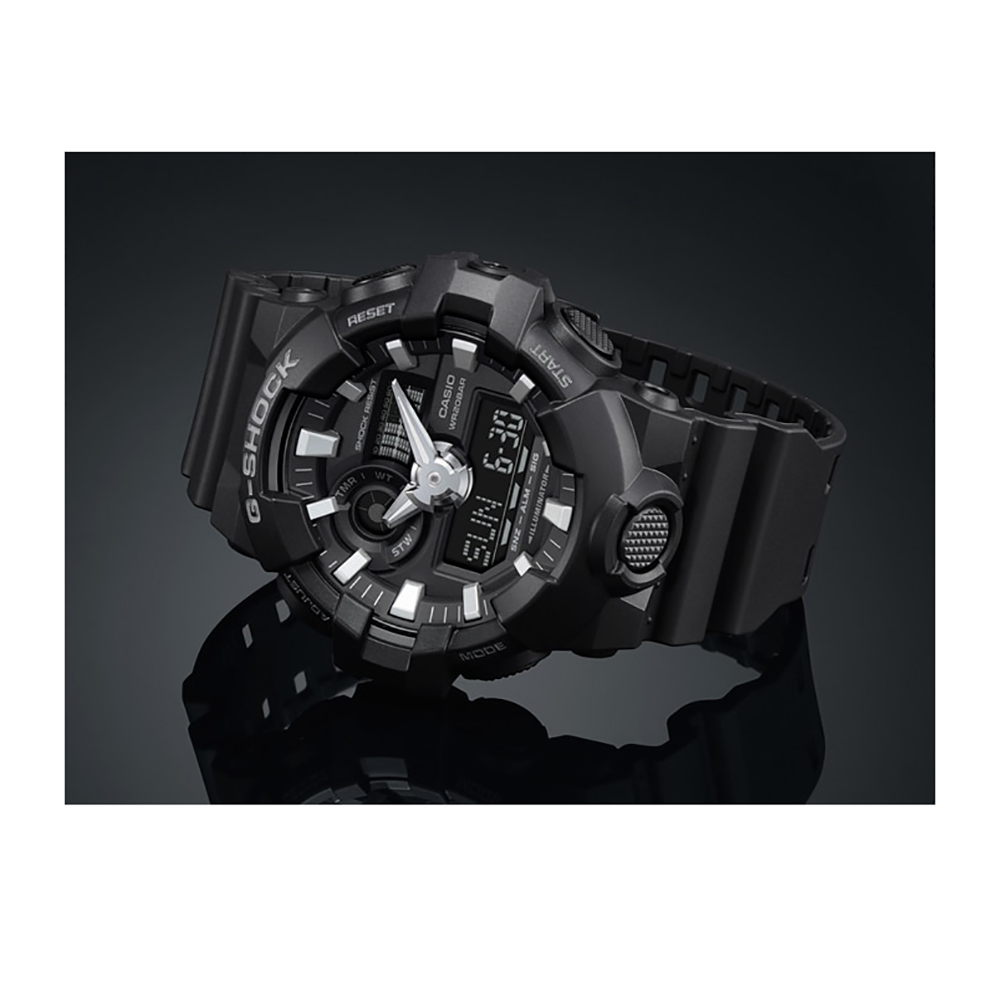1f7fbb329e9 Relógio G-Shock Classic Style GA-700-1BER GA-700-1B • EAN ...