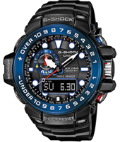 GWN-1000B-1BER Gulf Master 55.80mm Radio Controlled Marine Watch with Tide Graph and Storm Alarm