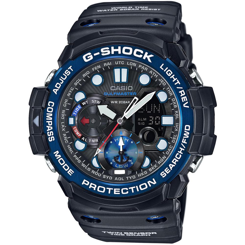2479ebbf5f8 Relógio G-Shock Master of G GN-1000B-1AER Gulf Master • EAN ...