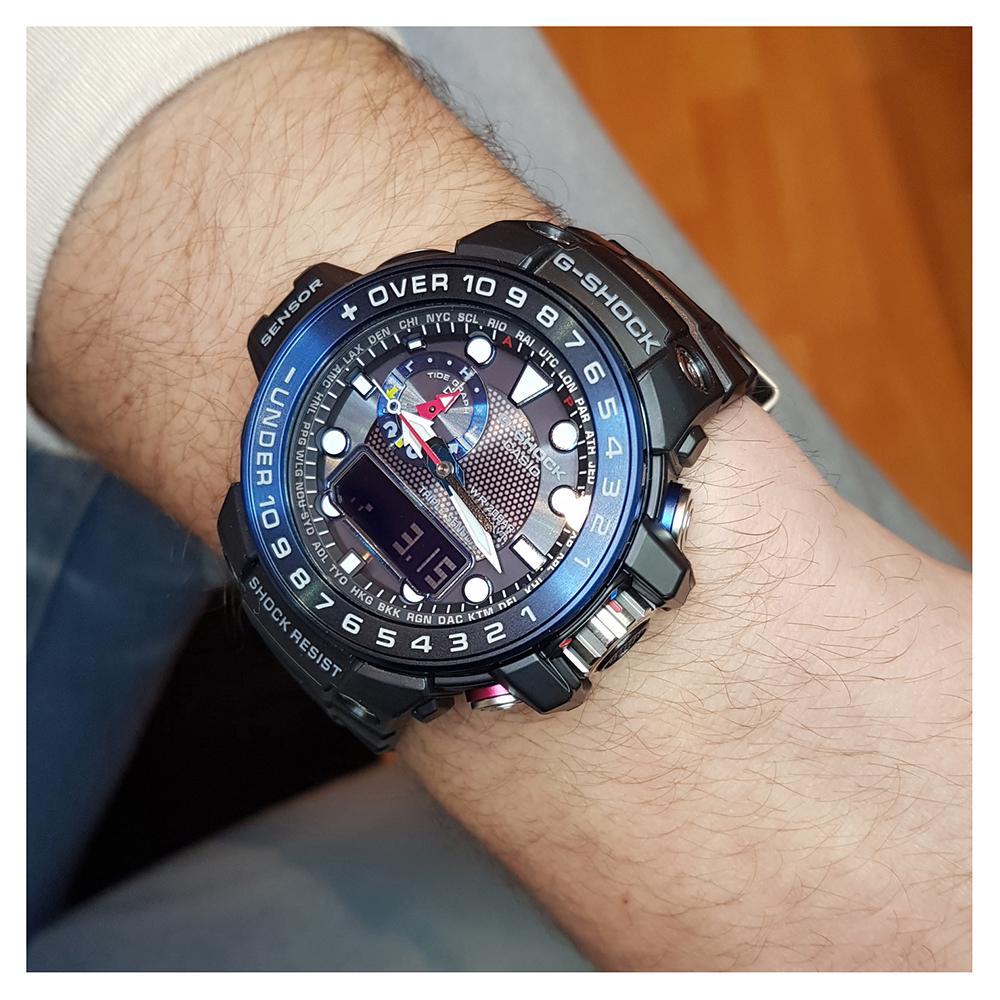 82550b81099 Relógio G-Shock Master of G GWN-1000B-1BER Gulfmaster • EAN ...