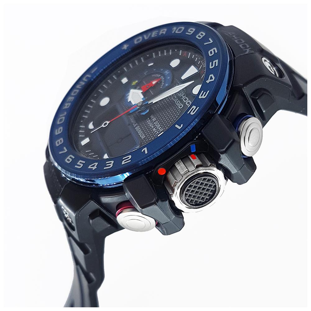 226923e7f48 Radio Controlled Marine Watch with Tide Graph and Storm Alarm Colecção  Primavera Verão G-